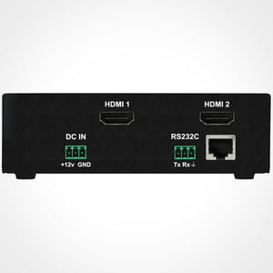 PureLink HDBaseT Extension System with iCON Control Automation Rear View