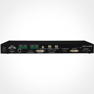 PureLink 6x2 Presentation Switcher with 2x2 Built-in Audio Matrix Rear View