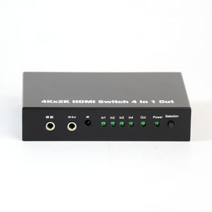 HDMI Switch with Remote - 3D Ready