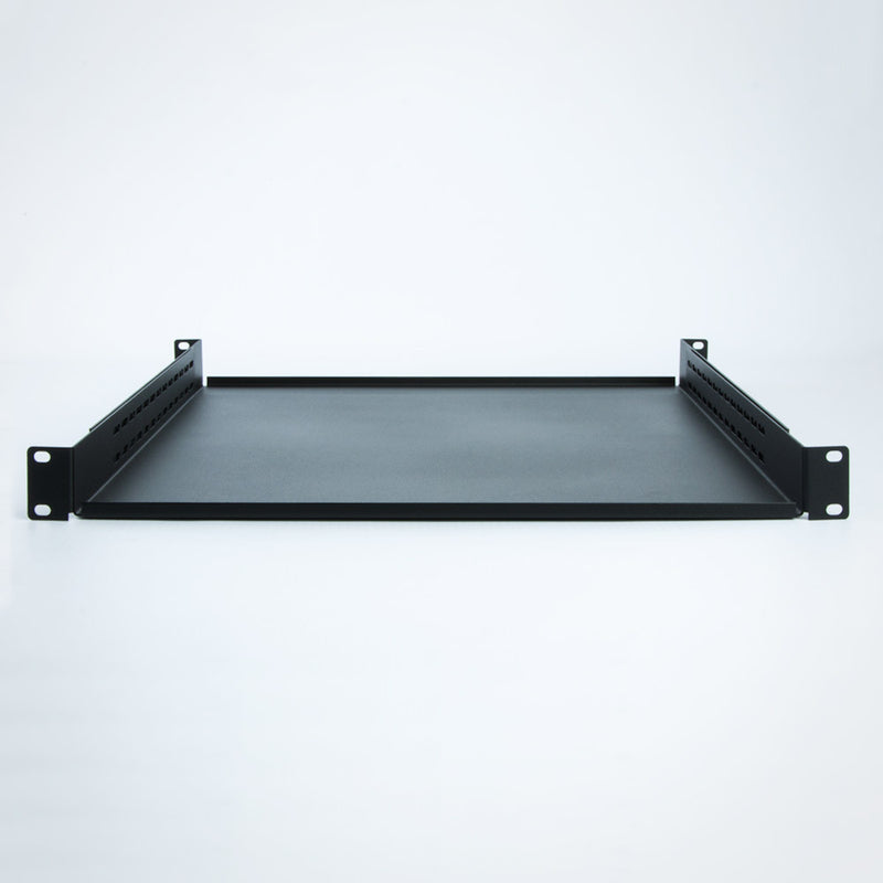 Kendall Howard Rack Shelf - 1 Unit (1U) Non-Vented 4-Point Adjustable