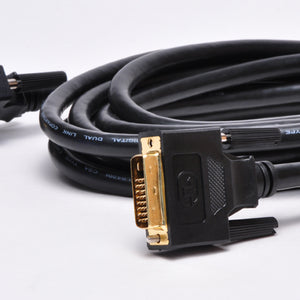 10ft 28AWG Dual Link DVI-D Cable alt view