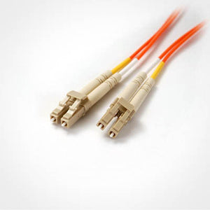 LC-LC Multimode OM1 Duplex 62.5/125 Fiber Patch Cable, UL, ROHS