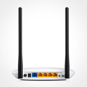 Back of TP-Link Wireless Router