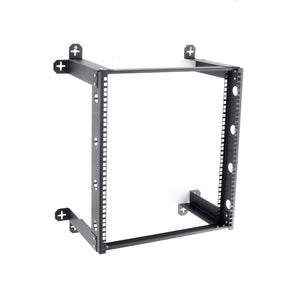 Kendall Howard 1915-3-300-12 12 Unit V-Line Wall Mount Rack - Fixed
