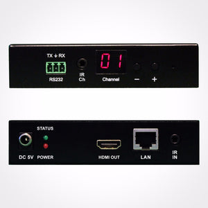 PureLink AV HDMI over IP Receiver with PoE Layout
