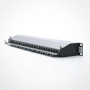 Vertical Cable 042-C6A/24 CAT6A Shielded 24 Port Patch Panel Image 3