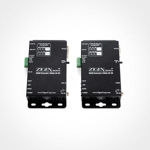 Zigen HDBaseT Receiver over Single Cat5e/6/7 up to 70m for HX-88 and HX-1616 HDBaseT Modular Matrixes Front View