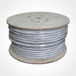Vertical Cable 500ft RG-6 Coax Cable - 2 Quad Shield + 2 CAT5E + 2 Fiber, UL listed