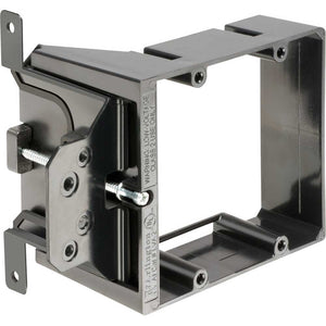 Arlington LVA2 Adjustable Depth Mounting Bracket, Dual Gang