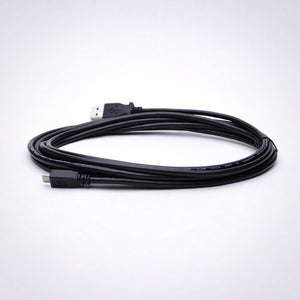 10ft USB 2.0 to Micro USB Cable, Black Image 3