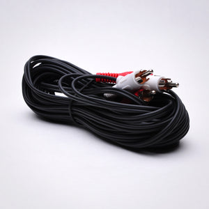 25ft 2 RCA Audio Cable - Male to Male Image 4