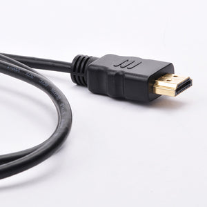 Micro HDMI to HDMI Cable - High Speed with Ethernet Zoom View