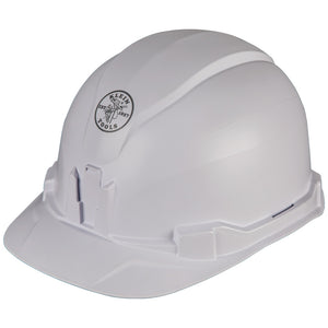 Klein Tools Hard Hat, Non-vented, Cap Style, 60100