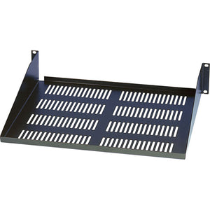 Quest 18 Inch 2 Unit (2U) Vented Cantilever Rack Shelf