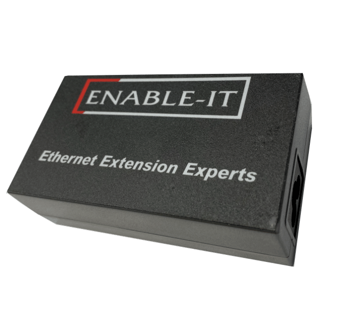 Enable-IT 61W - 56VDC Gigabit PoE+ Injector