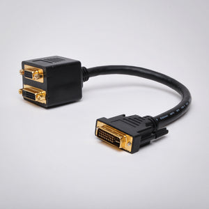 1ft DVI to DVI and VGA Adapter Cable