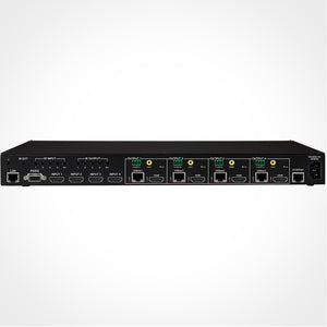 PureLink HTX-4400-U Ultra HD 4x4 HDMI to HDBaseT Matrix Switcher with PoE Back