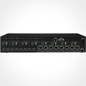 PureLink HTX-8800-U Ultra HD 8x8 HDMI to HDBaseT Matrix Switcher with PoE Back