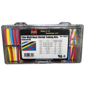 Morris Thin Wall Heat Shrink Tubing Kit - Front Look