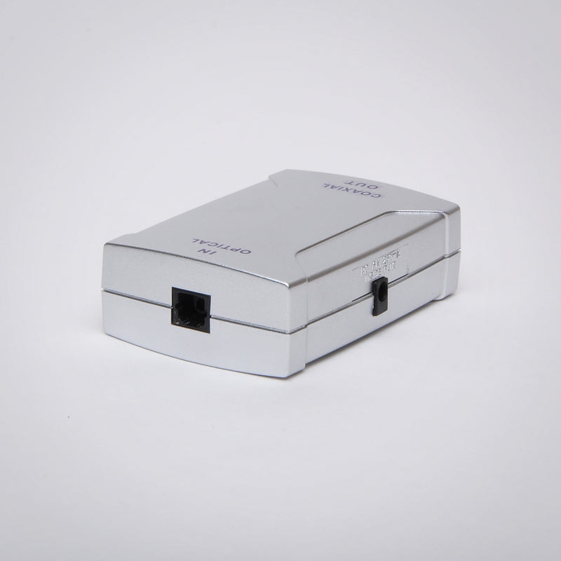 Optical to Coaxial (S/PDIF) Digital Audio Converter