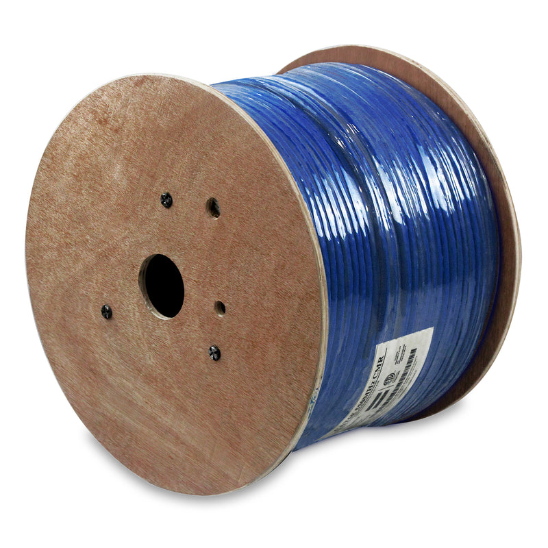 NetStrand 1000ft Solid Shielded Cat6 Cable - 23AWG F/UTP 550MHz CMR, ETL