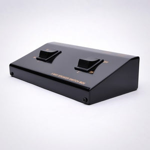 2-Way (1x2) Stereo Speaker Switch Box - Terminal Type