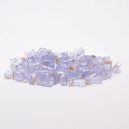 Platinum Tools Cat6 RJ45 EZ-RJ45 Connector - 100 Pack
