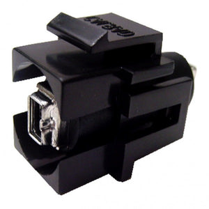 FireWire Keystone Jack - 4 Pin Female to Female Coupler