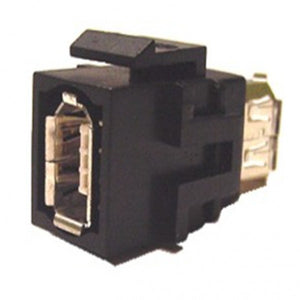 FireWire Keystone Jack - 6 Pin Female to Female Coupler