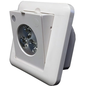 Morris LED Motion Sensor Emergency Lighting Adjustable Optics