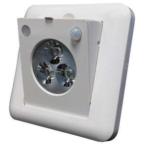 Morris LED Motion Sensor Emergency Lighting Adjustable Optics with Motion Sensor