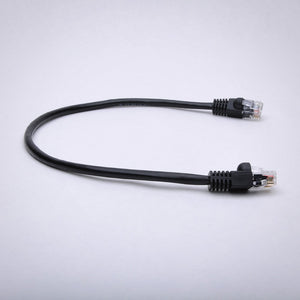 Cat6A Patch Cable 500MHz 10G Bare Copper Snagless Boot Alternative Side View