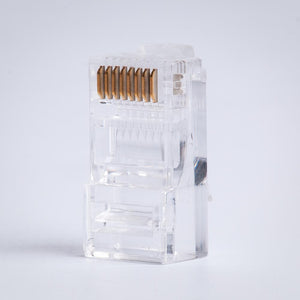 CAT5E RJ45 Connector for Solid/Stranded Cable Image 2