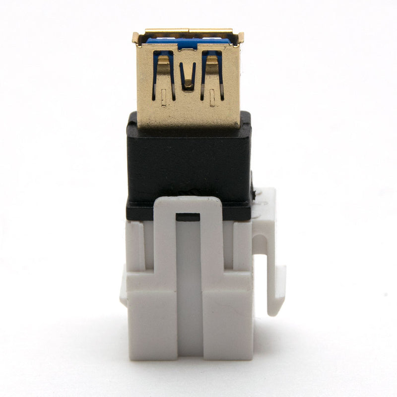 USB 3.0 Keystone Jack - Female to Female Coupler