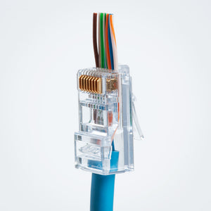 Platinum Tools 100010C CAT6 RJ45 EZ-RJ45 Connector Image 7