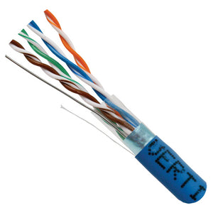 Cat5E Solid Shielded Bulk Cable detail