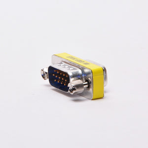 VGA Adapter - DB15HD Male to Male Mini Gender Changer Image 3