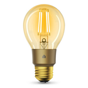 TP-Link KL60 Kasa Filament Smart Bulb, Warm Amber