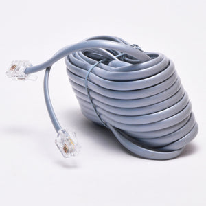 25ft RJ11 Telephone Cable - Straight Data