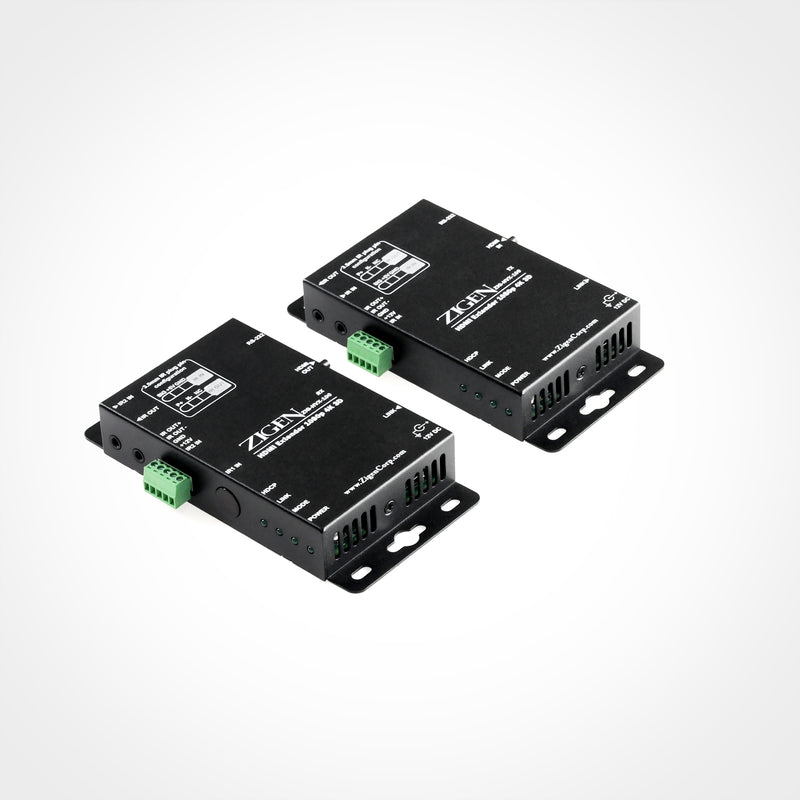 Zigen HDBaseT Receiver over Single Cat5e/6/7 up to 100m for use with HX-88 and HX-1616 HDBaseT Modular Matrixes