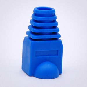 RJ45 Strain Relief Boots - 100 Pack, Blue Image 2
