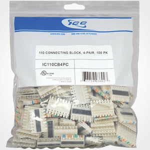 ICC 110 Connecting Block 100 PK, 4-Pair