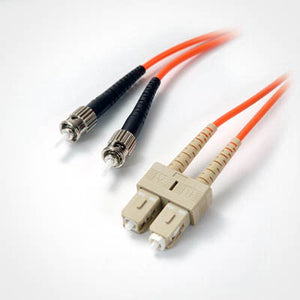 SC-ST Multimode OM1 Duplex 62.5/125 Fiber Patch Cable, UL, ROHS