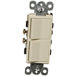 Morris Double Rocker Switch Commercial Grade - Firefold