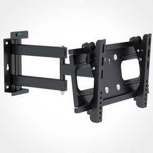 Rhino Brackets Single Arm Full Motion TV Wall Bracket 32 to 55 Inch Screens