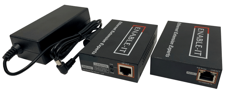 Enable-IT 1-Port Ethernet Extender Kit - 100Mbps over 1-pair wiring