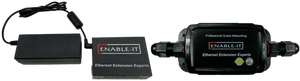 Enable-IT 1-Port Outdoor Coax PoE Extender Kit - Genuine