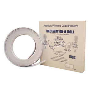 Premier FWF-14511 Raceway on a Roll - 3/8 Inch x 50ft, White