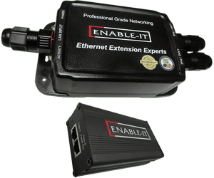 Enable-IT 2-Port Outdoor PoE powered 828P - Gigabit PoE over 4-pair wiring