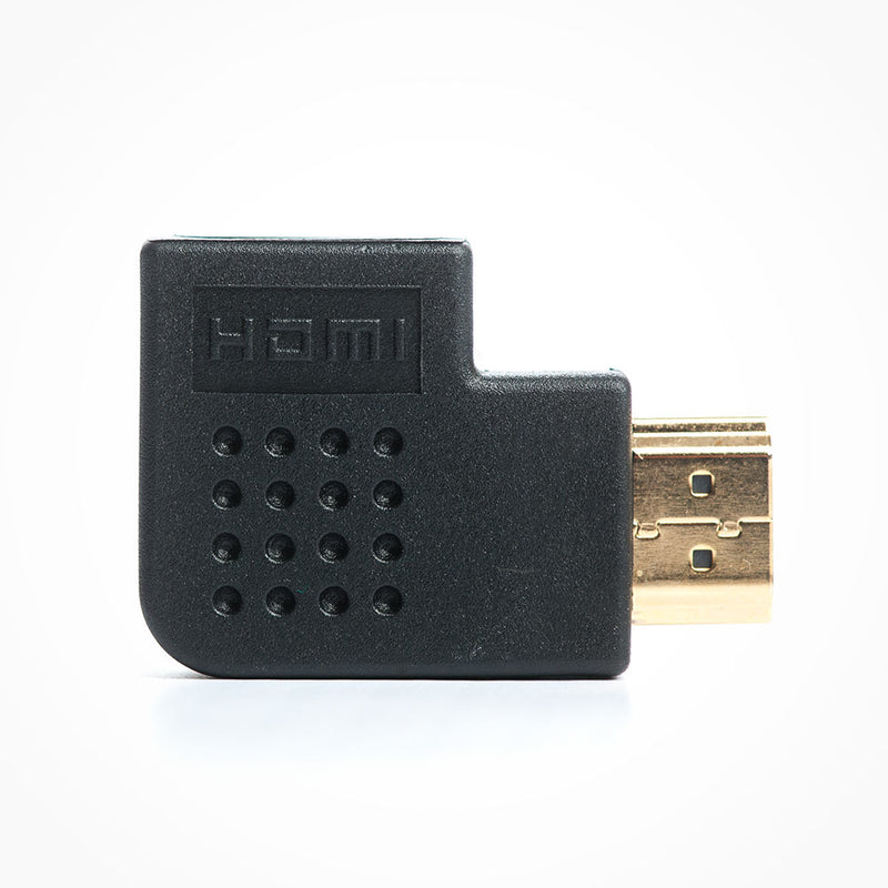 Vertical Flat Right Angle HDMI Adapter
